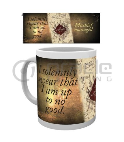 Harry Potter Marauders Map Mug