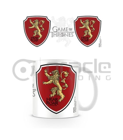 Game of Thrones Lannister Coffee Mug