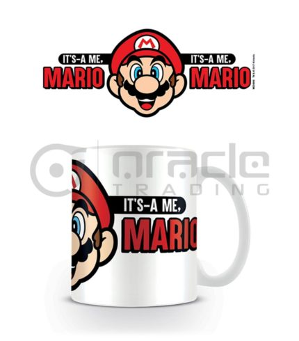 Super Mario Coffee Mug (It's-A Me