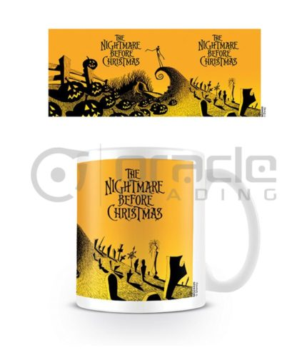 Nightmare Before Christmas Coffee Mug (Graveyard Scene)
