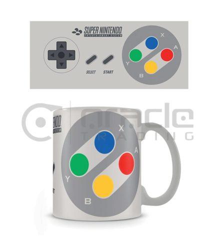 Nintendo Coffee Mug (SNES Controller)