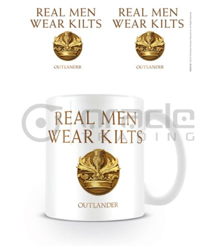 Outlander Mug - Real Men Wear Kilts