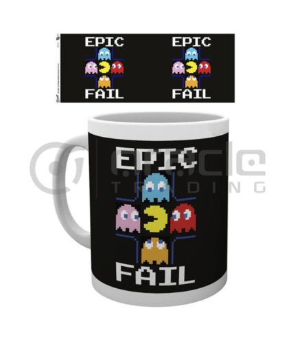 Pacman Coffee Mug (Epic Fail)