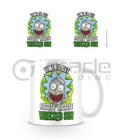 Rick & Morty Wrecked Son Coffee Mug