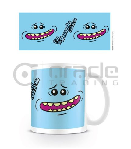 Rick & Morty Mr. Meeseeks Face Mug