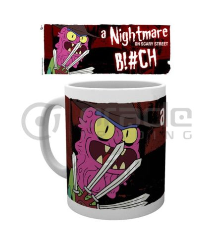 Rick & Morty Coffee Mug - Scary Terry - Nightmare