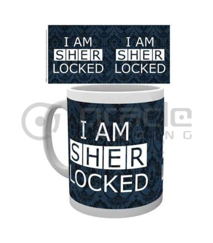 Sherlock I am Sherlocked Coffee Mug