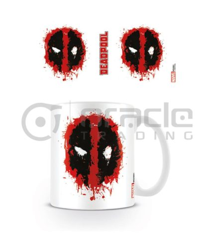 Deadpool Splat Coffee Mug