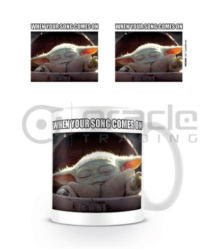 Star Wars: The Mandalorian Song Meme Mug