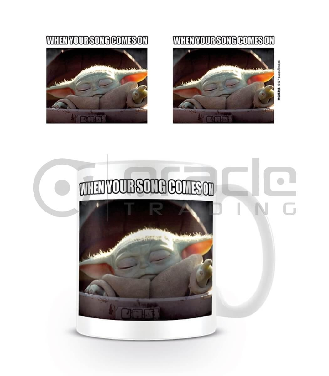 Star Wars: The Mandalorian Song Meme Mug