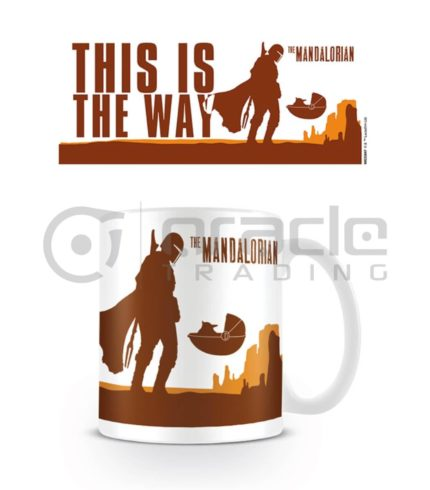 Star Wars: The Mandalorian This is the Way Mug