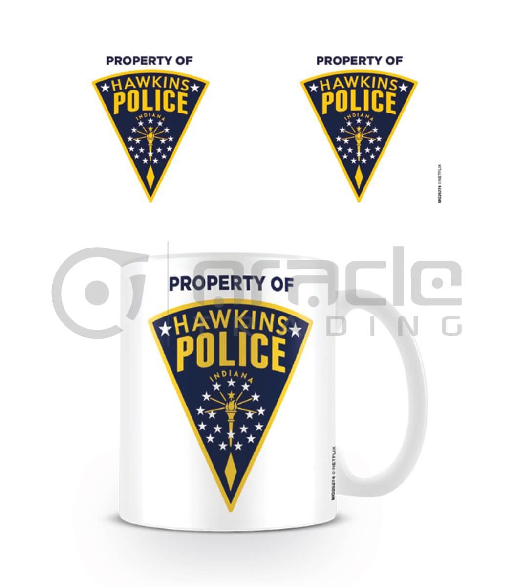 Stranger Things Mug - Hawkins Police