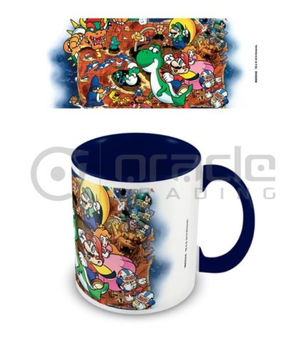 Super Mario World Mug - Inner Coloured