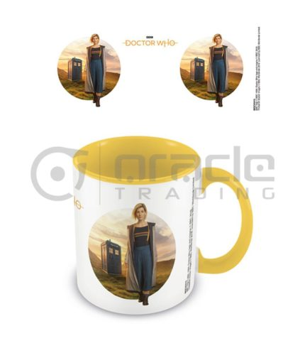 Doctor Who 13th Doctor Coffee Mug - Inner Coloured