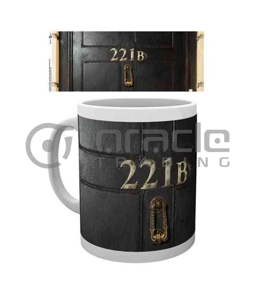Sherlock 221B Coffee Mug