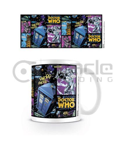 Doctor Who Comic Strip Coffee Mug