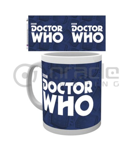 Doctor Who Logo Coffee Mug