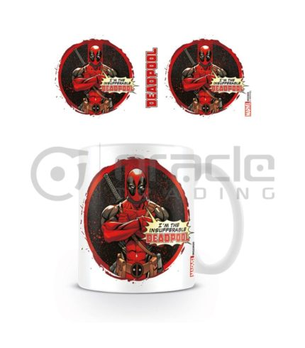 Deadpool Insufferable Coffee Mug
