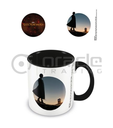Doctor Who New Dawn Coffee Mug - Inner Coloured (13th Doctor)