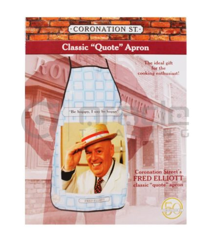 Coronation Street Apron - Fred Elliott