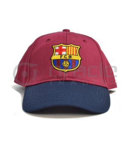 Barcelona Burgandy Crest Hat