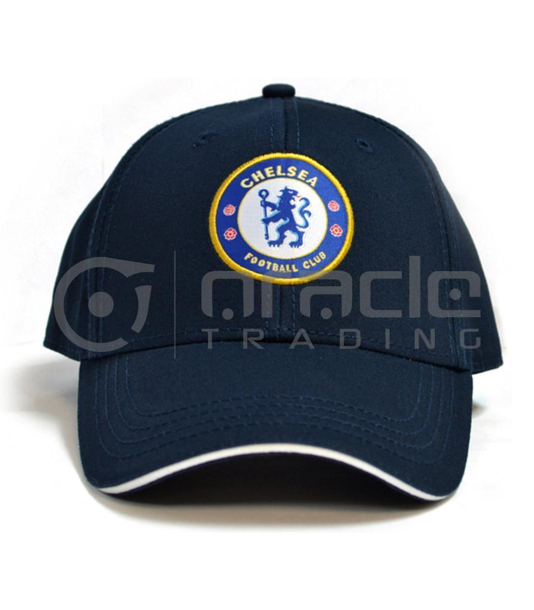 Chelsea Navy Crest Hat