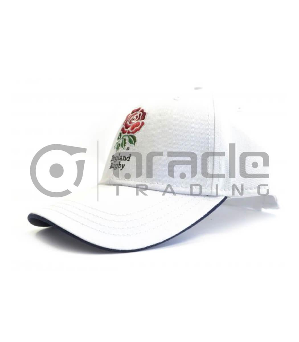 England Rugby Crest Hat (White)