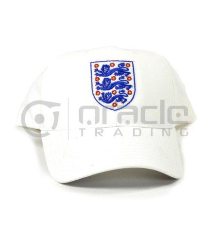 England FA White Crest Hat