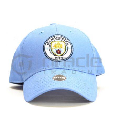 Manchester City Sky Blue Crest Hat - Brand 47