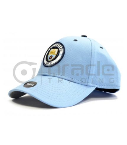 Manchester City Sky Blue Crest Hat - Brand 47