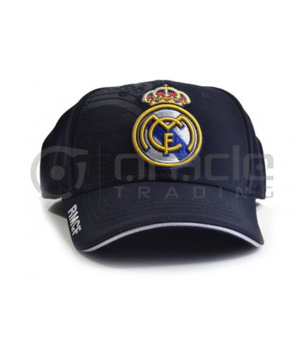 Real Madrid Navy Crest Hat