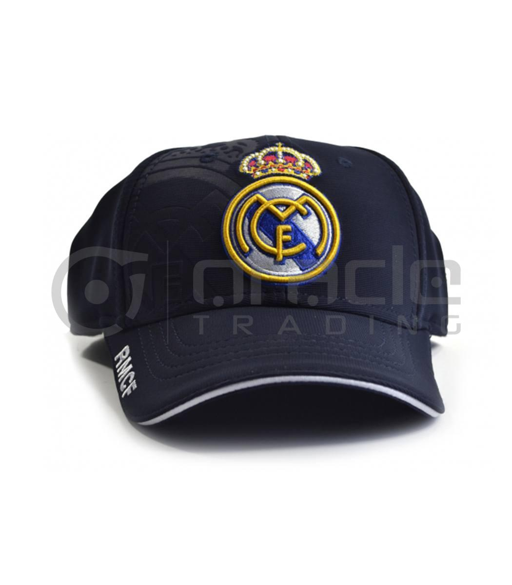 98f907acc59 Real Madrid Navy Crest Hat