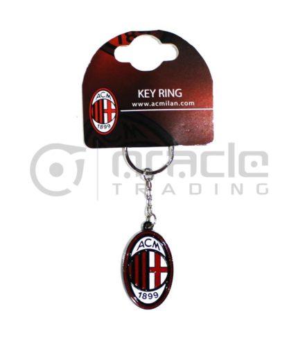AC Milan Crest Keychain