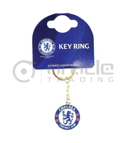 Chelsea Crest Keychain