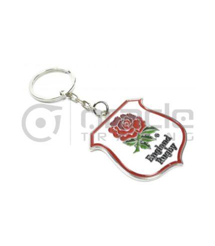England Rugby Crest Keychain