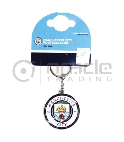 Manchester City Crest Keychain