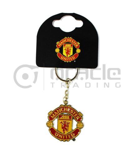 Manchester United Crest Keychain