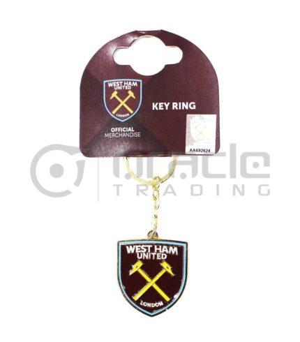 West Ham Crest Keychain