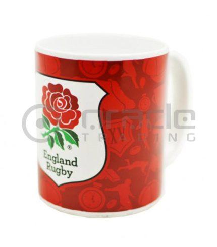 England Rugby Crest Mug (Boxed)