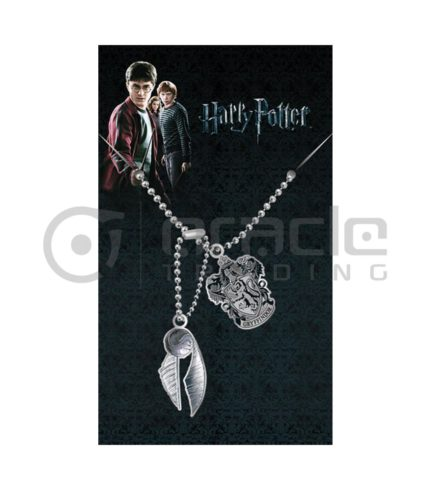 Harry Potter Gryffindor & Quidditch Dog Tags