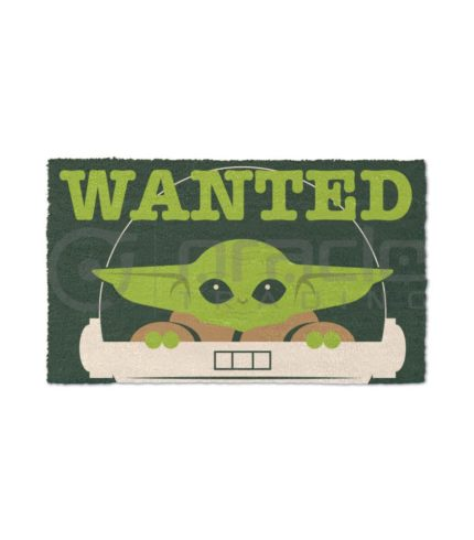 Star Wars: The Mandalorian Doormat - Wanted