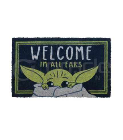 Star Wars: The Mandalorian Doormat - Welcome