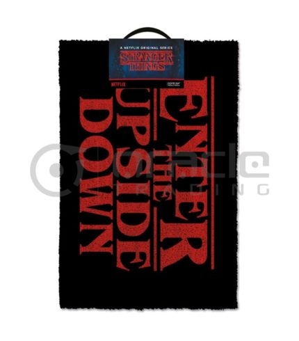 Stranger Things Doormat - Upside Down