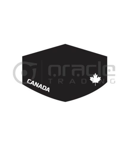 Canada Face Mask - Black (Premium)