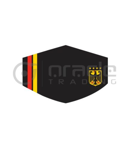 Germany Face Mask - Stripes (Premium)