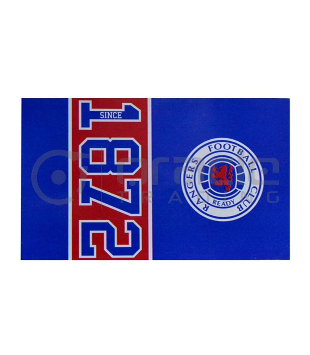 Rangers Fc Flag Oracle Trading Inc