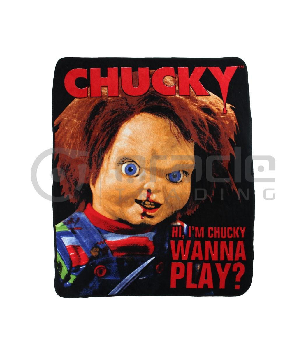 Chucky Fleece Blanket