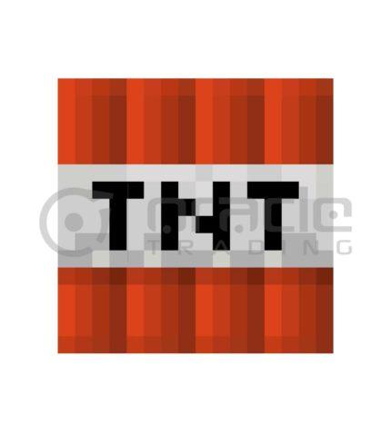 Minecraft Fleece Blanket (TNT)