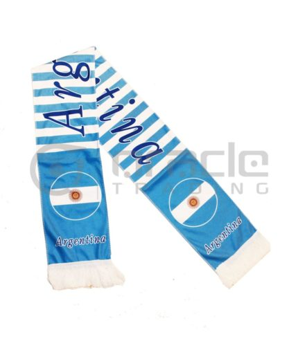 Argentina Fleece Scarf