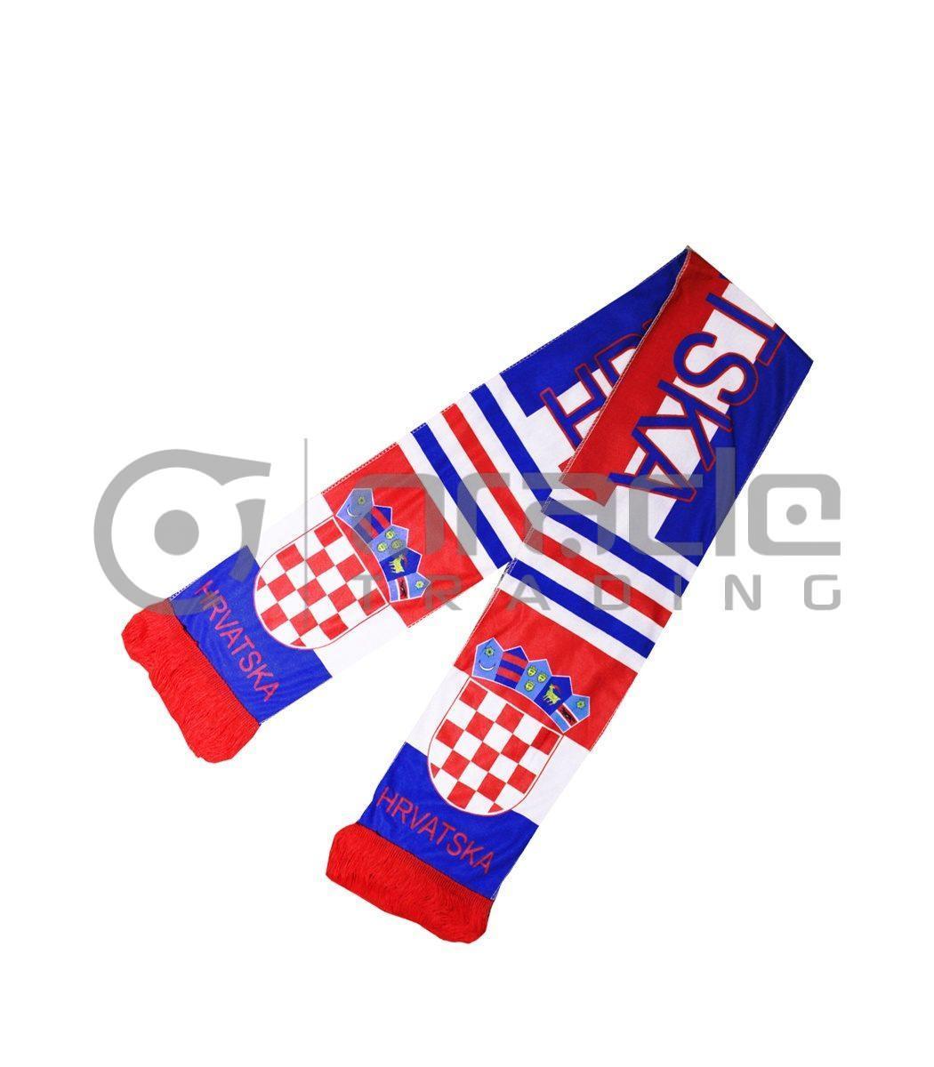 Croatia Fleece Scarf